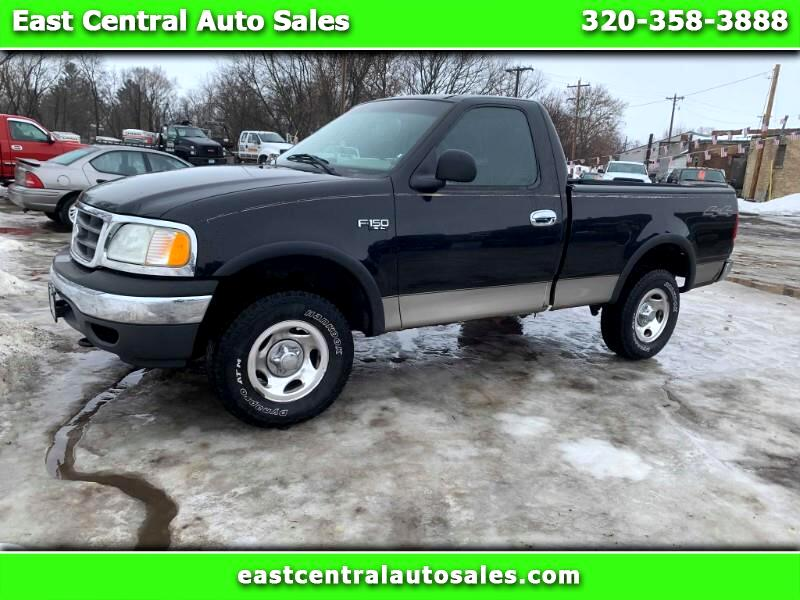 """2002 Ford F-150 117"""" WB 4WD"""