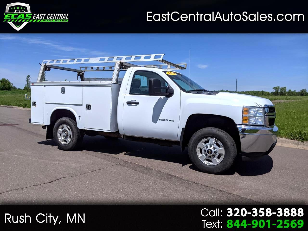 """Chevrolet Silverado 3500HD 4WD Reg Cab 133.7"""" Work Truck 2012"""