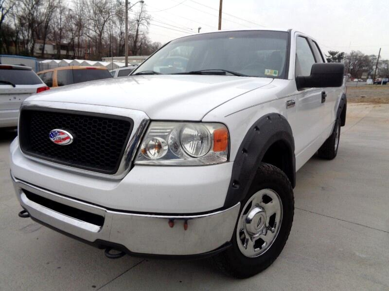 "2007 Ford F-150 4WD Supercab 133"" Lariat"