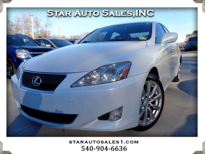 2008 Lexus IS 250 4dr Sport Sdn Auto AWD