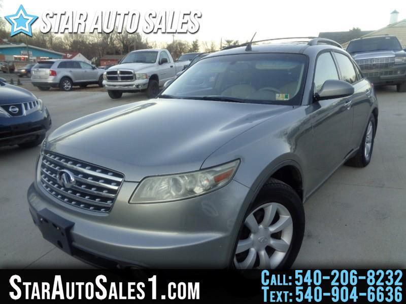 2004 Infiniti G35 Sedan 4dr Sdn AWD Auto w/Leather