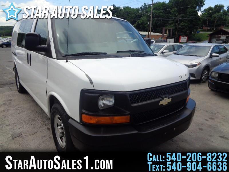 """2008 Chevrolet Express Cargo Van RWD 1500 135"""""""