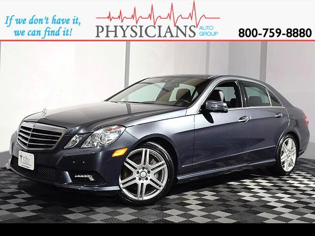 2010 Mercedes-Benz E-Class E550 Sedan 4MATIC