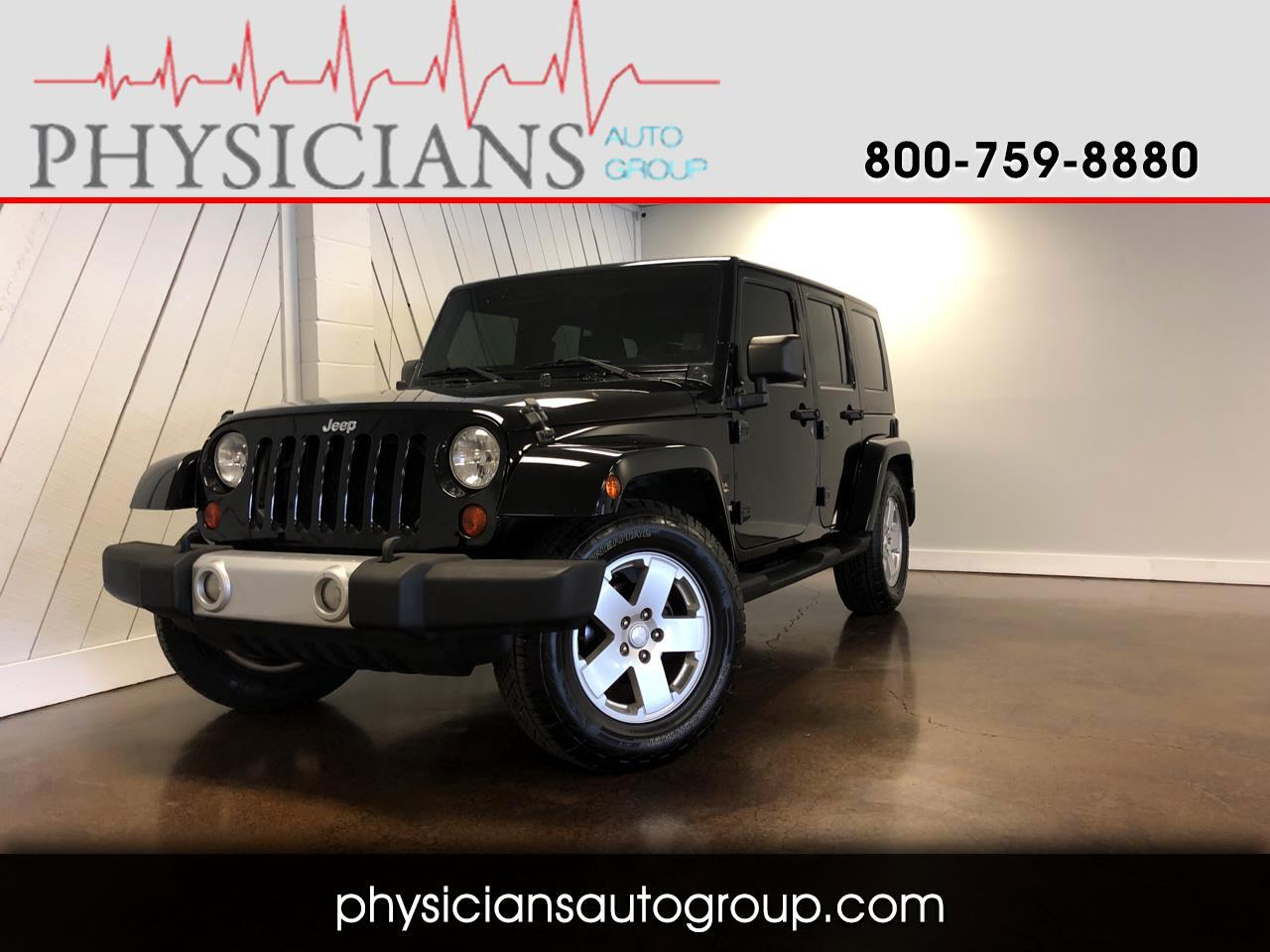 Jeep Wrangler Unlimited RWD 4dr Sahara 2010