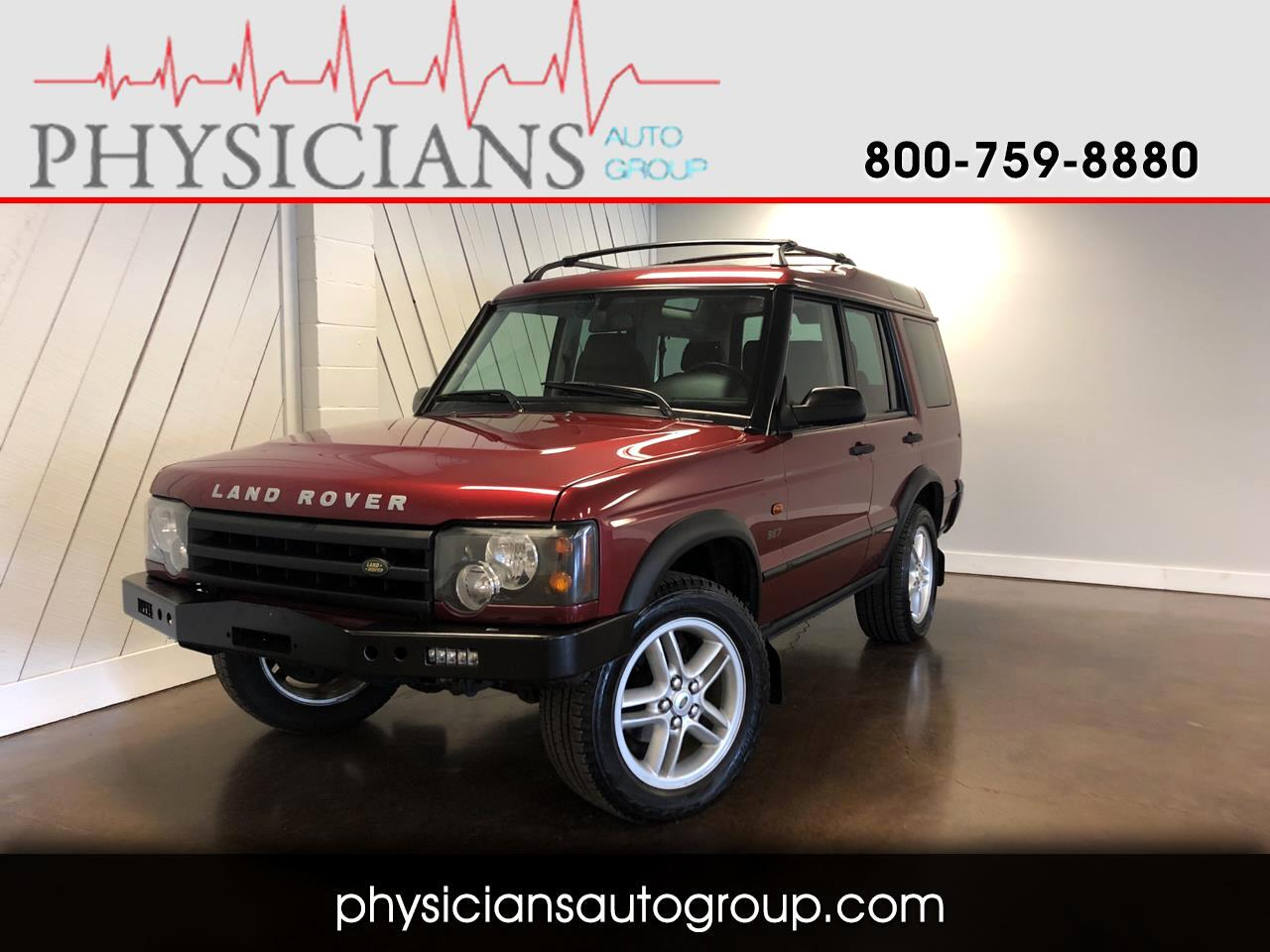 Land Rover Discovery 4dr Sport Utility SE7 2003