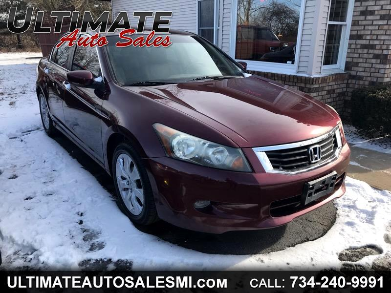 2008 Honda Accord EX-L Sedan AT with Navigation System and XM Radio