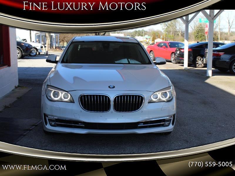 BMW 7-Series 740Li xDrive 2013