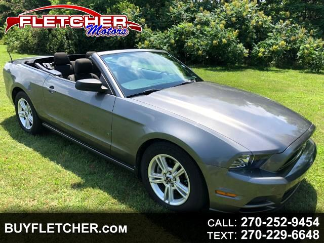 2013 Ford Mustang 2dr Conv Deluxe