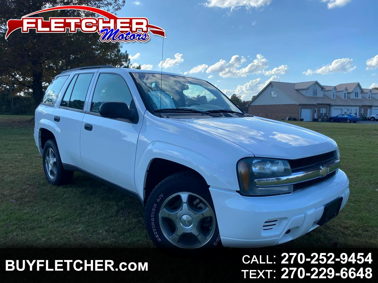 Chevrolet TrailBlazer 4WD 4dr Fleet w/1FL 2008