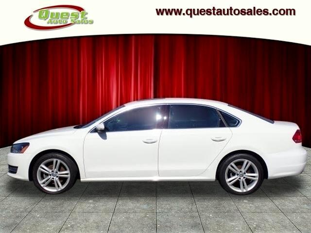 2015 Volkswagen Passat 4dr Sdn 2.0L TDI DSG SE w/Sunroof