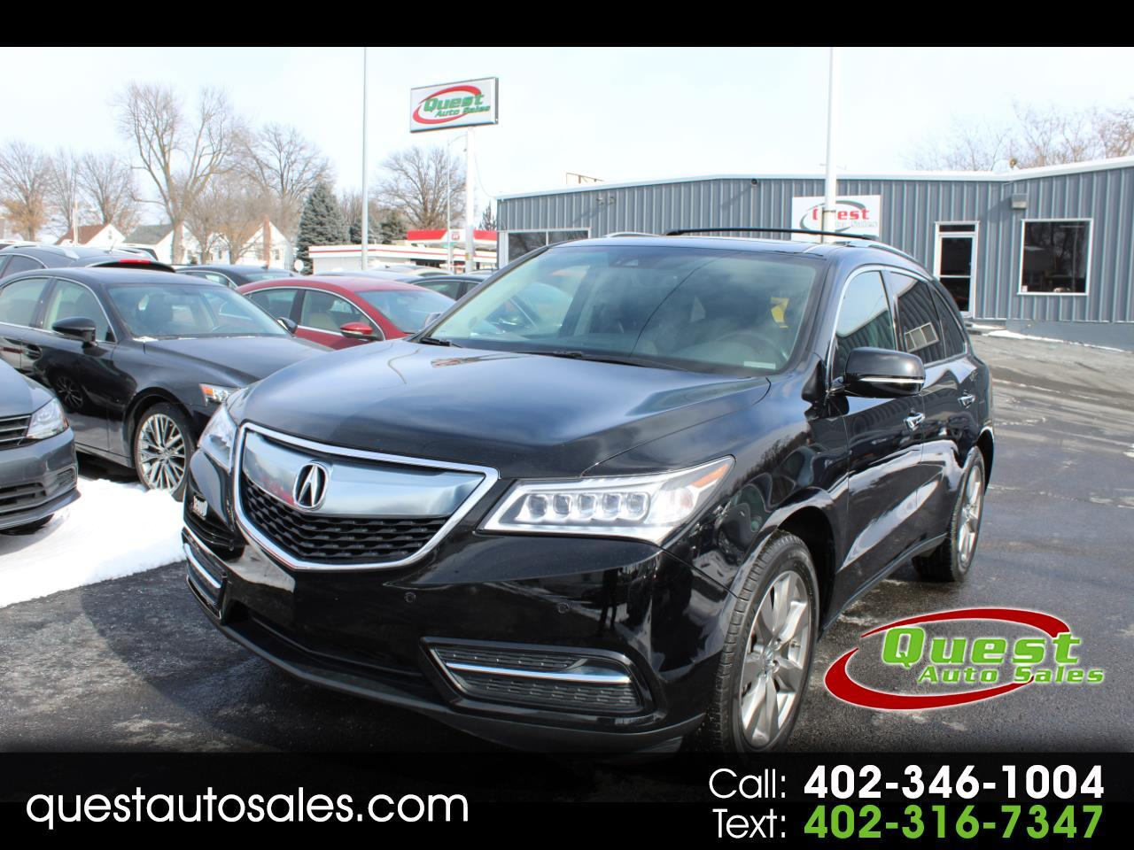 2016 Acura MDX SH-AWD 4dr w/Advance/Entertainment