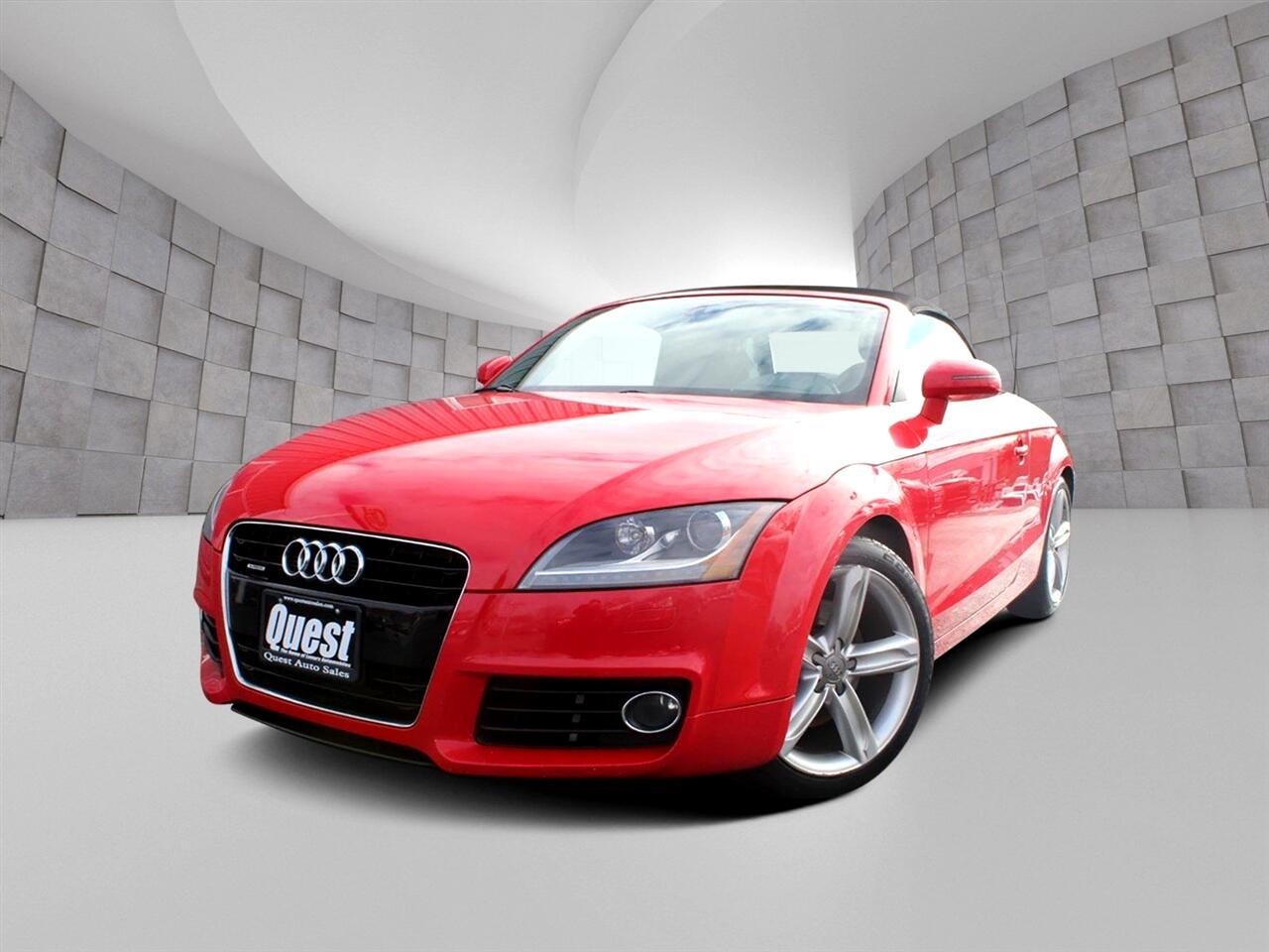 Audi TT 2dr Roadster S tronic quattro 2.0T Premium Plus 2012