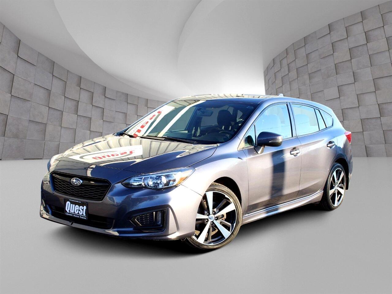 Subaru Impreza 2.0i Sport 5-door CVT 2017