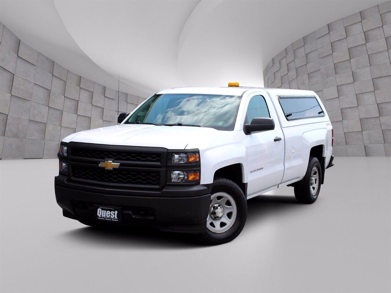 Chevrolet Silverado 1500 Work Truck Short Box 4WD 2015