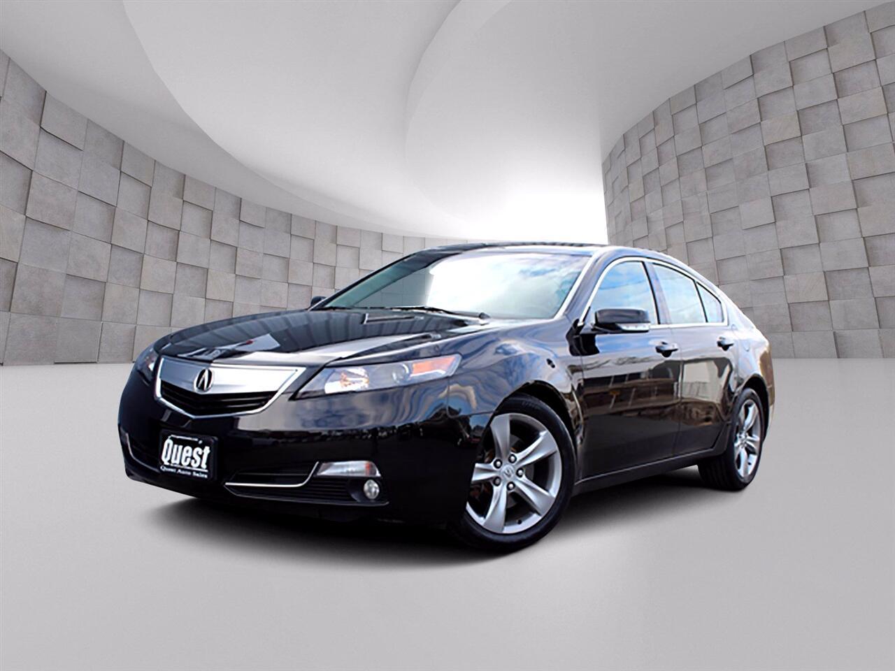 Acura TL 4dr Sdn Auto 2WD Advance 2012