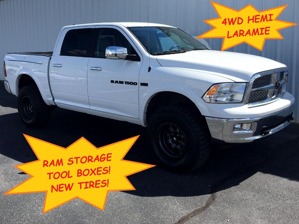 """2012 RAM 1500 4WD Crew Cab 140.5"""" Laramie"""