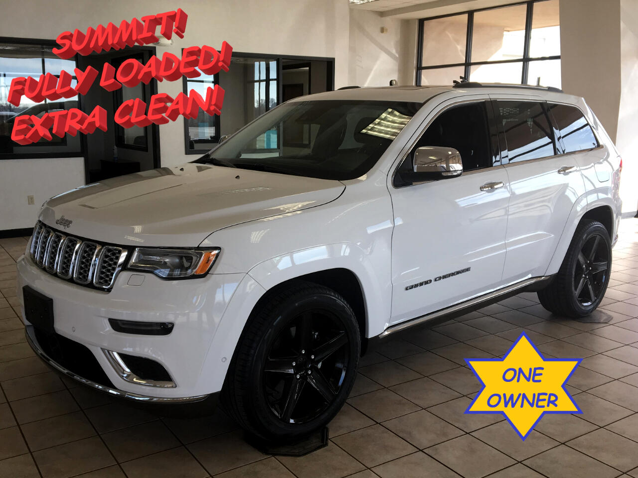 2017 Jeep Grand Cherokee Summit 4x2