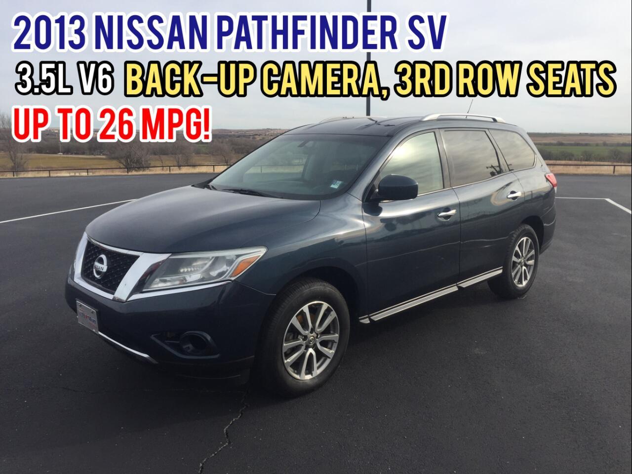 Nissan Pathfinder 2WD 4dr SV 2013