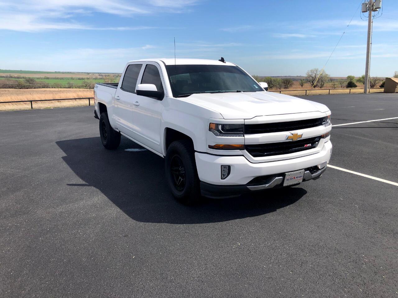 """Chevrolet Silverado 1500 4WD Crew Cab 143.5"""" LT w/2LT 2018"""