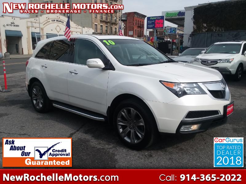 2010 Acura MDX 6-Spd AT w/Advance and Ent. Pkg
