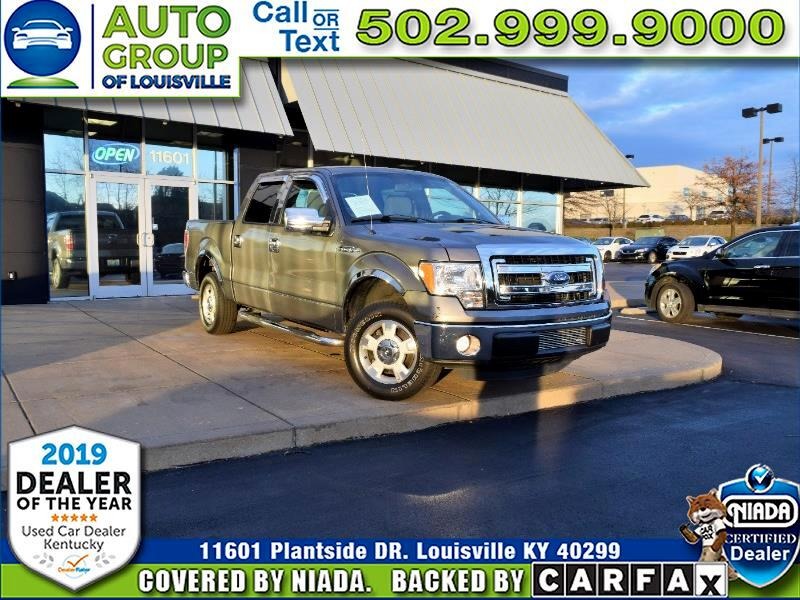 2014 Ford F-150 XLT SuperCrew 145""