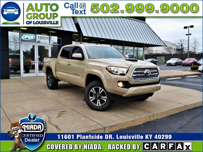 2017 Toyota Tacoma TRD Off Road Double Cab 5' Bed V6 4x4