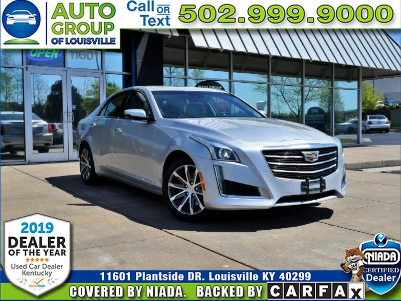 2016 Cadillac CTS Sedan 2.0T Luxury Collection AWD