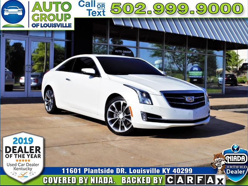 2016 Cadillac ATS Coupe Luxury 2.0T AWD