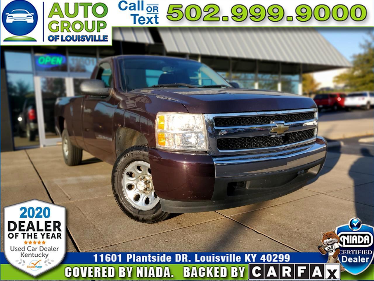 """Chevrolet Silverado 1500 2WD Reg Cab 133.0"""" Work Truck 2008"""