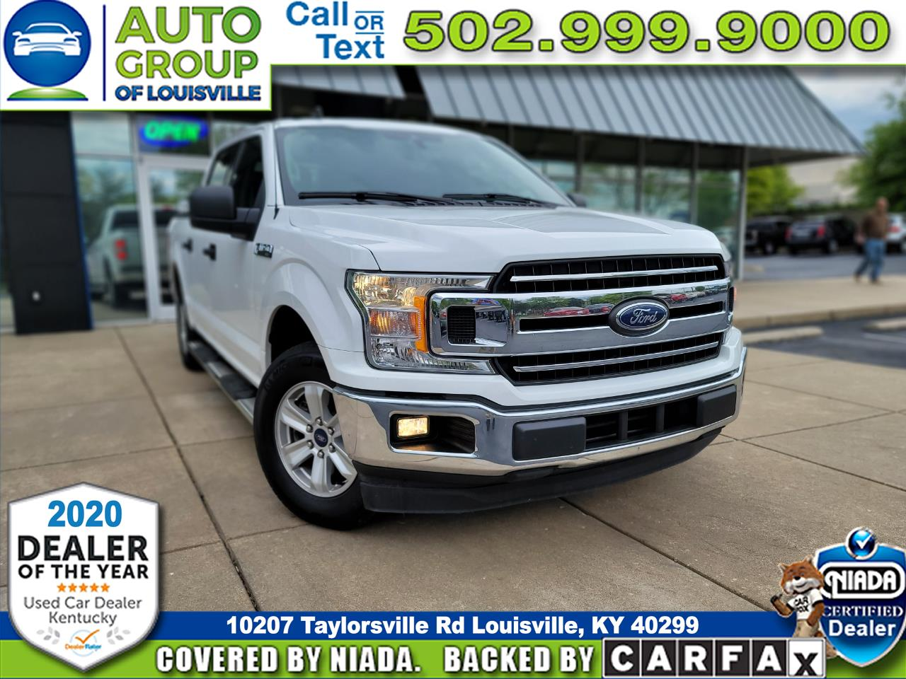 Ford F-150 XLT SuperCrew 5.5-ft. Bed 2WD 2019