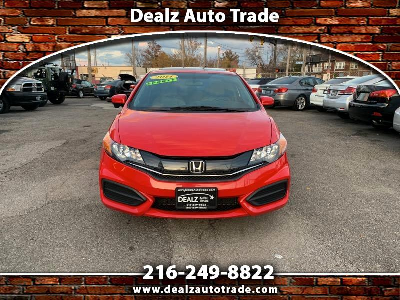 Honda Civic EX Coupe CVT 2014