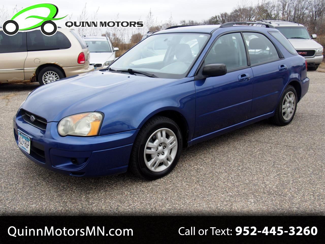 2004 Subaru Impreza Wagon (Natl) 2.5 TS Sport Auto