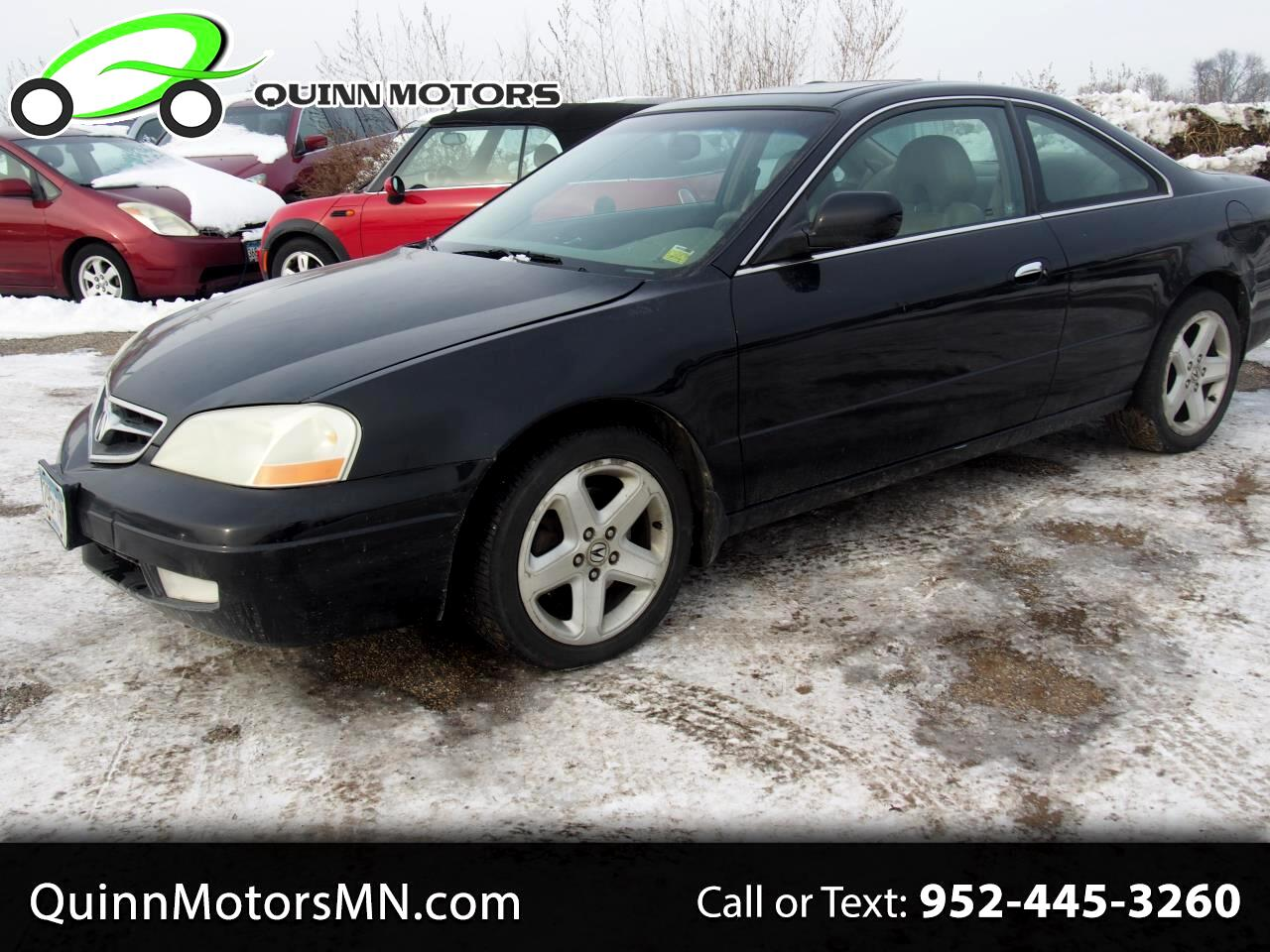 2001 Acura CL 2dr Cpe 3.2L Type S w/Navigation