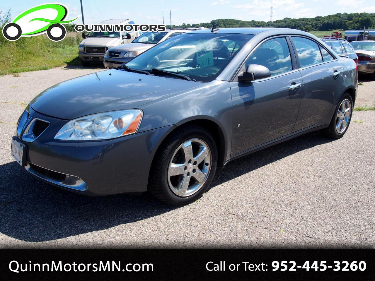 2009 Pontiac G6 4dr Sdn w/1SA *Ltd Avail*
