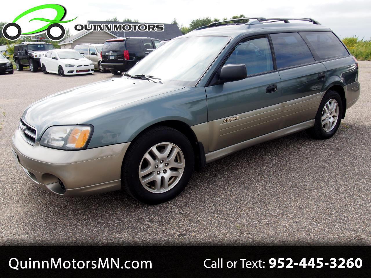 2002 Subaru Legacy Wagon 5dr Outback Auto w/All Weather Pkg