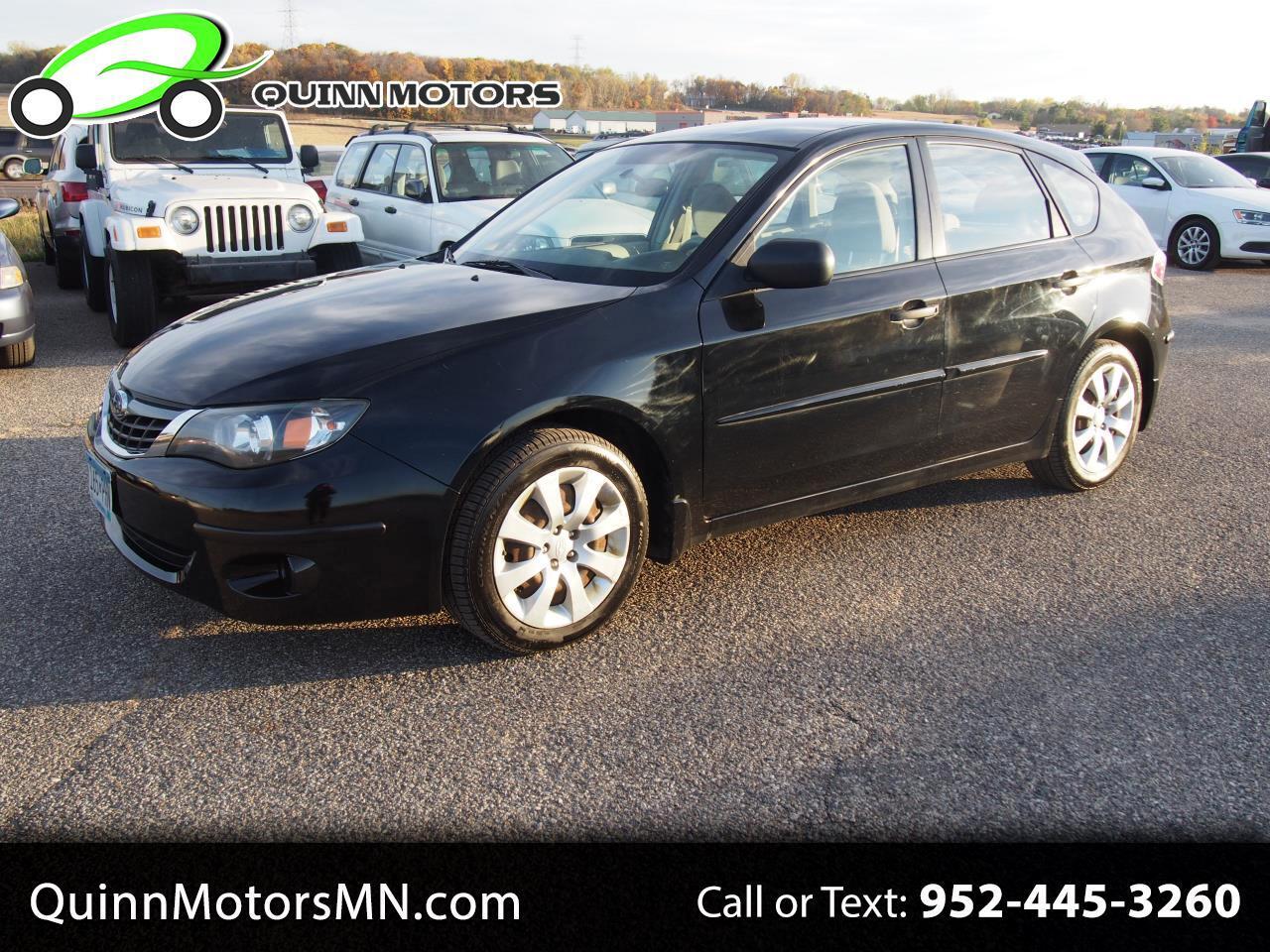 Subaru Impreza Wagon (Natl) 5dr Auto i 2008