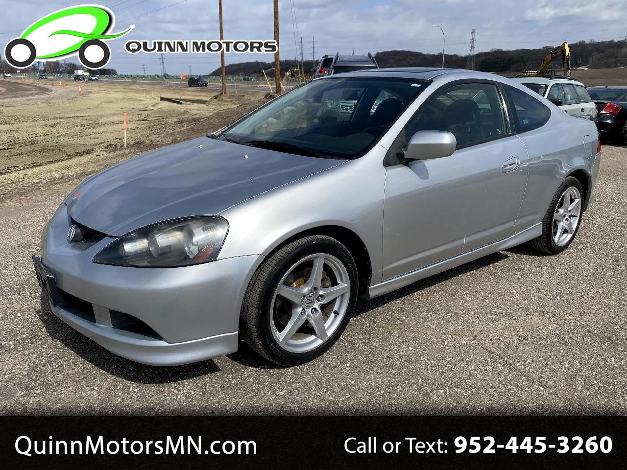 Acura RSX 2dr Cpe Type-S 6-spd MT Leather 2006