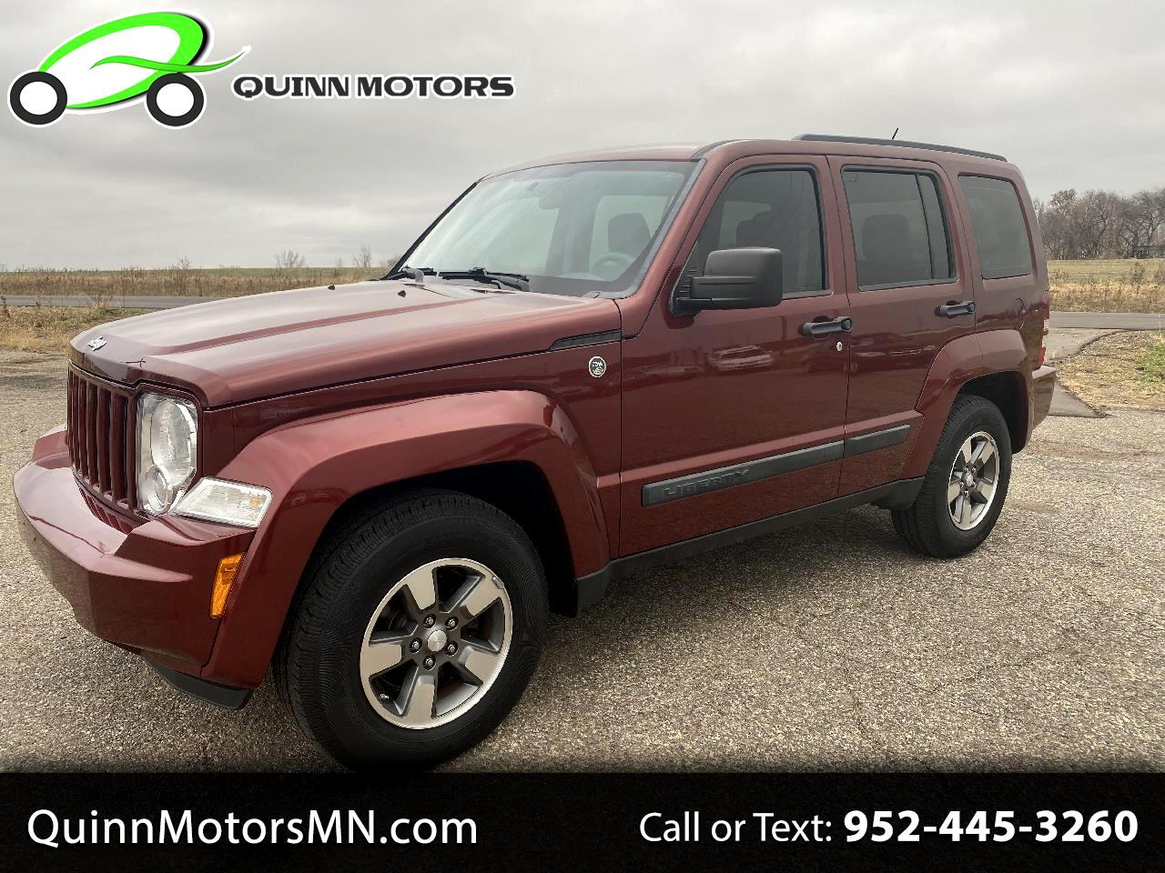 Jeep Liberty 4WD 4dr Sport 2008