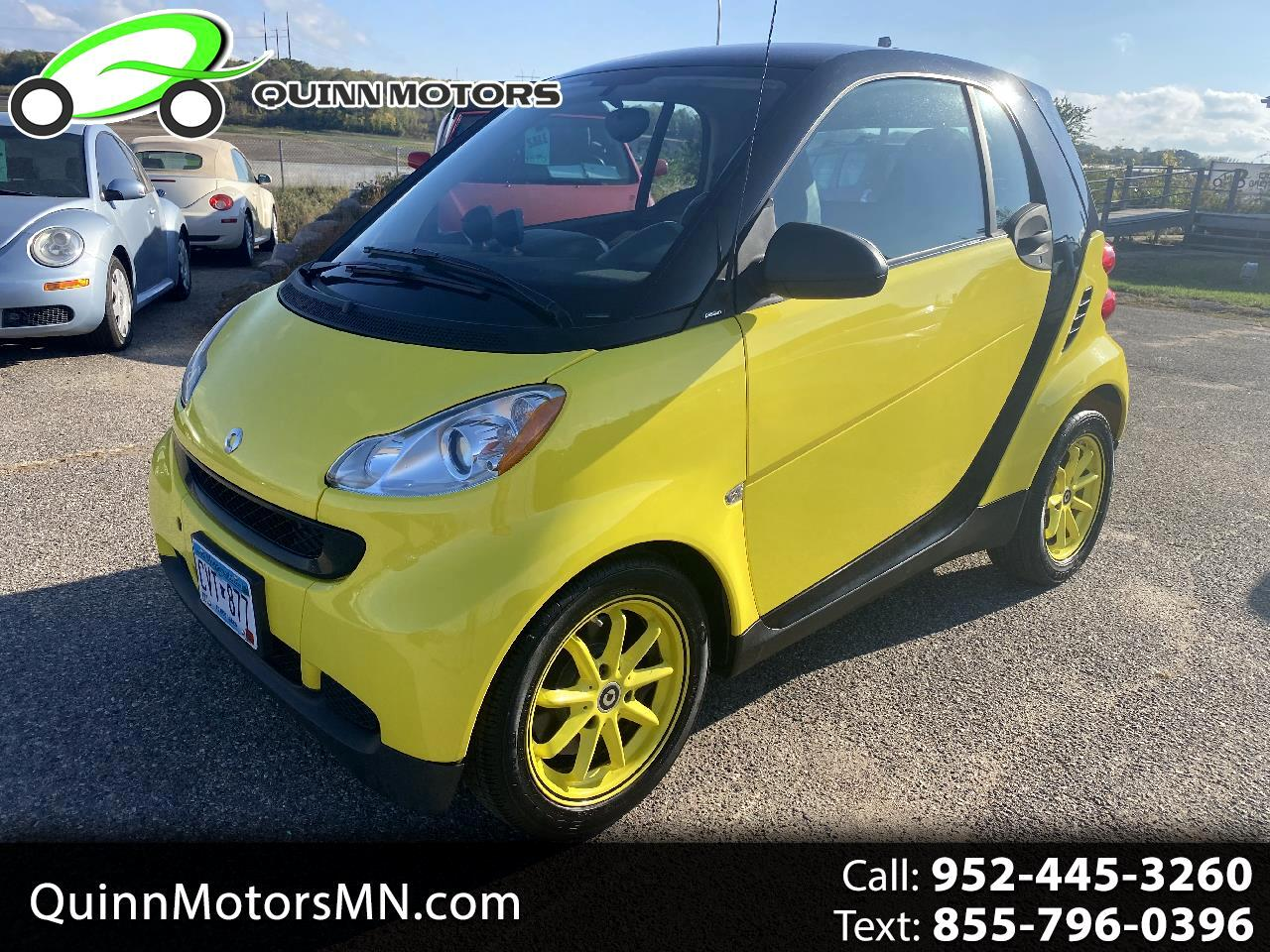 Smart Fortwo 2dr Cpe Passion 2008
