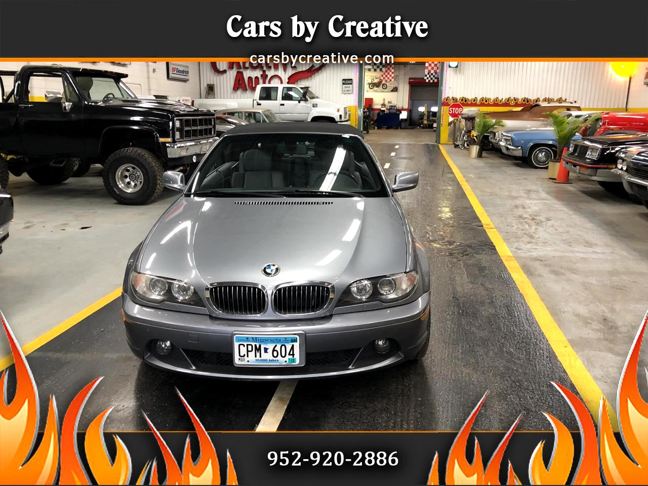 BMW 3-Series 325Ci convertible 2004