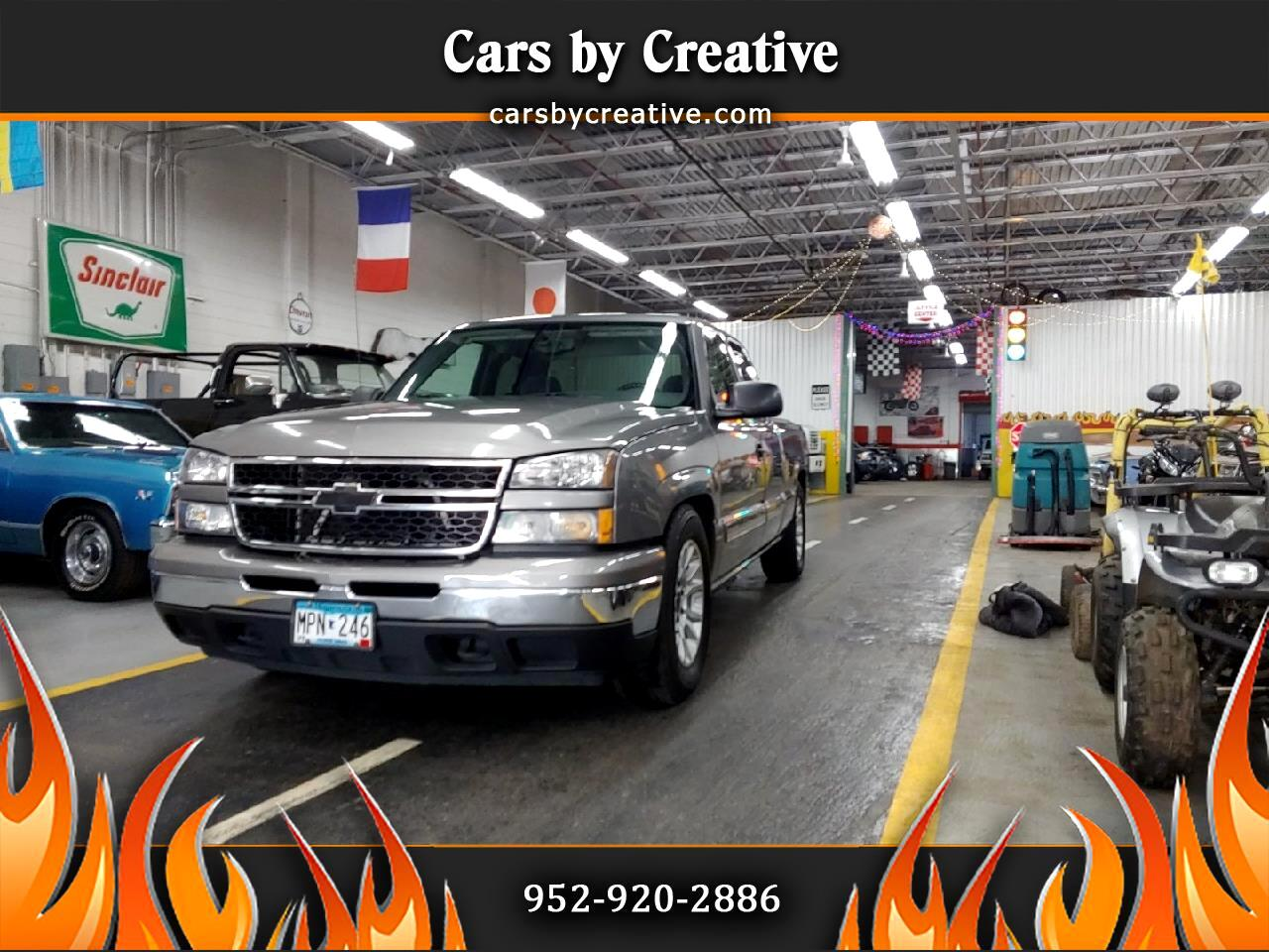 Chevrolet Silverado 1500 Work Truck Ext. Cab Short Bed 2WD 2006