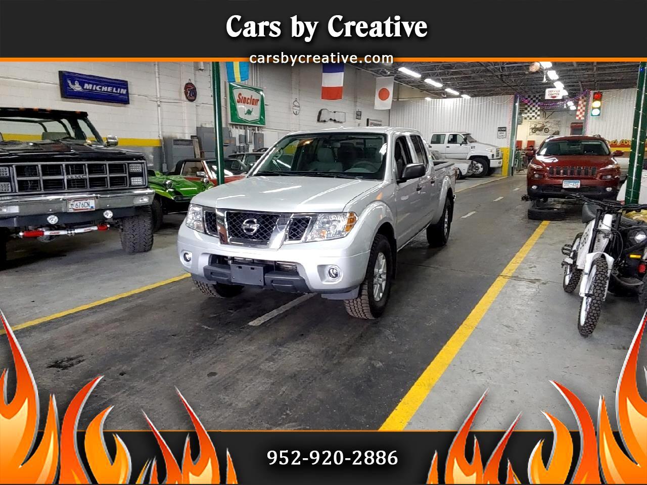 Nissan Frontier SL Crew Cab 4WD LWB 2014
