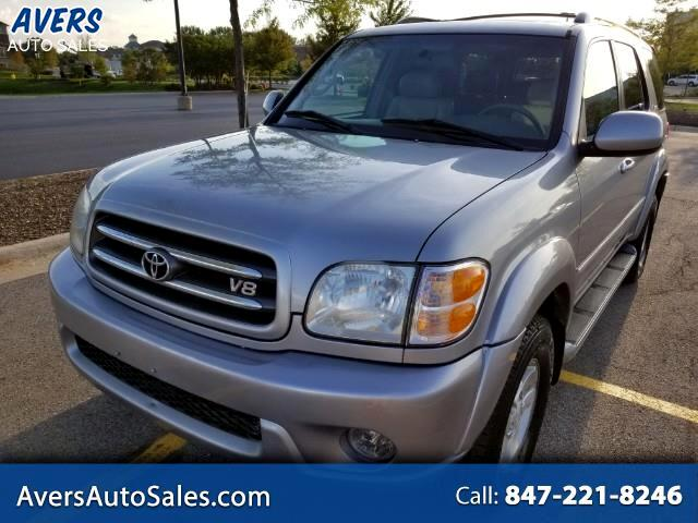 2001 Toyota Sequoia Limited 4WD