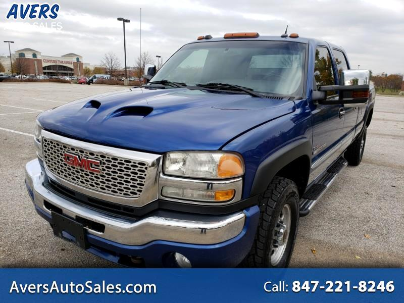2004 GMC Sierra 2500HD SLT Crew Cab Long Bed 4WD
