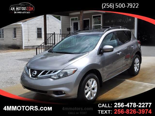 2011 Nissan Murano 4dr SL V6 2WD