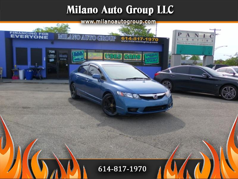 2009 Honda Civic LX-S Sedan 5-Speed AT
