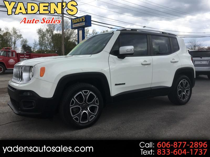 Jeep Renegade Limited FWD 2016