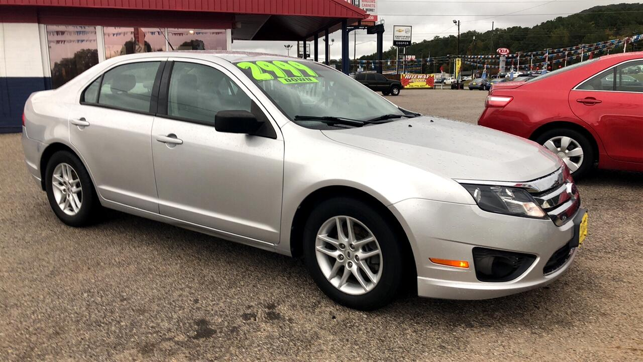 used 2012 ford fusion 4dr sdn s fwd for sale in anniston. Black Bedroom Furniture Sets. Home Design Ideas