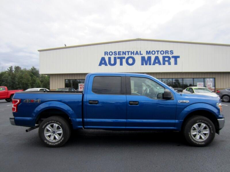 2018 Ford F-150 XLT SUPER CREW 5.5 BED 4WD