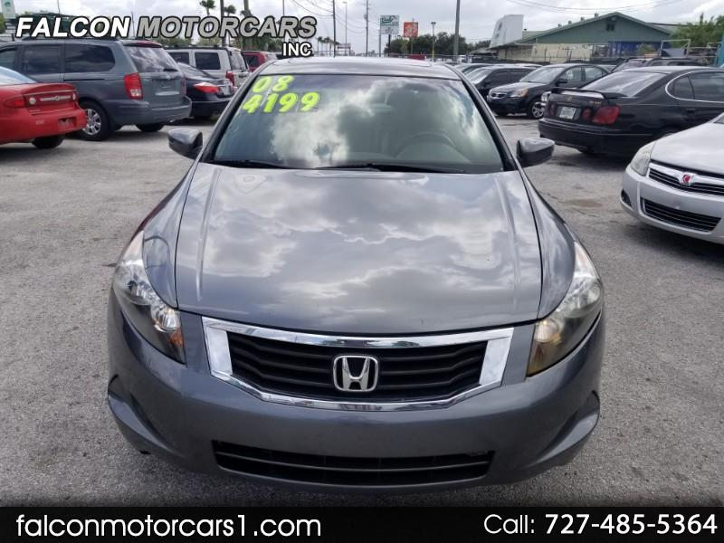 2008 Honda Accord EX-L Sedan AT